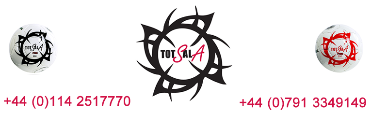 Futsal balls from Gingasports carry the TOTALSALA brand and are of the highest quality and come with our unique guarantee